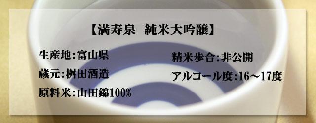 限定酒/満寿泉/純米大吟醸/吟奏の会/富山の地酒s
