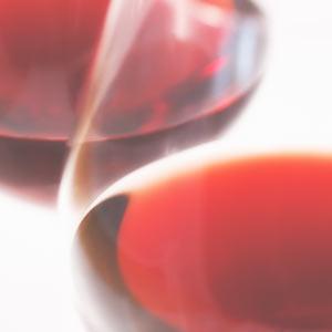 ワイングラス 赤